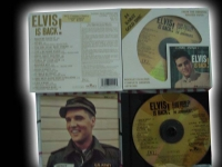"""Elvis Presley , Elvis is Back #12- Factory Sealed DCC Gold CD"" - Product Image"