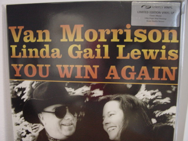 """Van Morrison, You Win Again - SVLP 180 Gram  (limited stock)"" - Product Image"