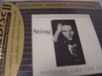 """Sting, Nothing Like The Sun - MFSL NEAR MINT OPEN CD"" - Product Image"