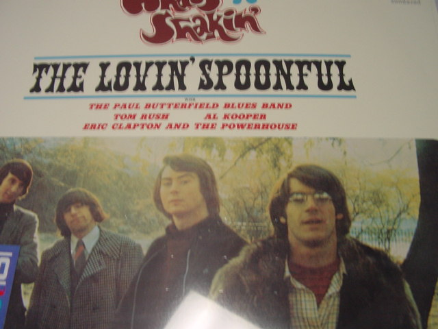 """What's Shakin, The Lovin' Spoonful with Paul Butterfield Band, Clapton, Spoonful, Kooper - 180 Gram Vinyl"" - Product Image"