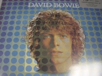 """David Bowie, Space Oddity - Silver Sticker - 180 Gram"" - Product Image"