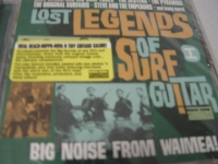"""Lost Legends, Lost I ( Dave Myers & His Surf-Tones, The Original Surfaris, The Jesters & more)"" - Product Image"