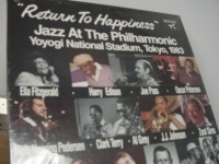 """Ella Fitzgerald, Oscar Peterson, Zoot Sims & more, Return To Happiness - Jazz At The Philharmonic""(3 LP Box Set)"" - Product Image"
