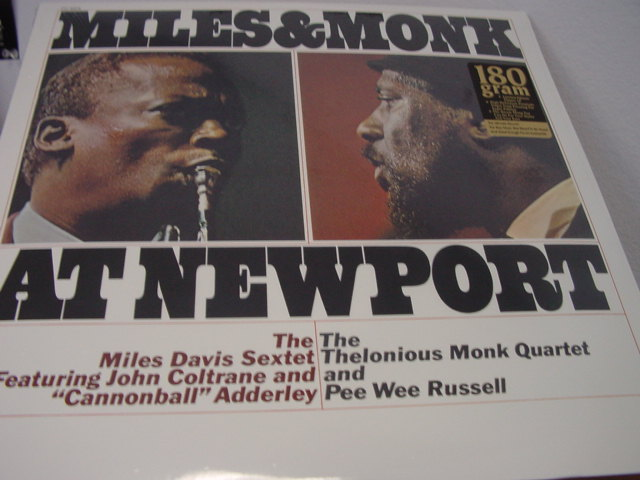 """Miles Davis & Thelonious Monk, Miles & Monk At Newport - 180 Gram"" - Product Image"