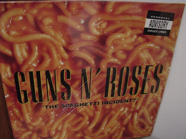 """Guns N Roses, The Spaghetti Incident"" - Product Image"