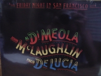 """Al DiMeola  / John McLaugphlin / Paco Delucia, Friday Night In San Francisco -CURRENTLY OUT OF STOCK"" - Product Image"
