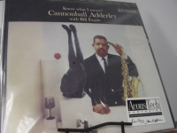 """Cannonball Adderley w/ Bill Evans, Know What I Mean #138 ( 2 LPs) - CURRENTLY SOLD OUT"" - Product Image"