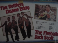 """""""The Drifters / Duane Eddy &The Fireballs, Various Hits"""" - Product Image"""