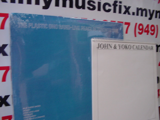 """John Lennon, Live In Toronto with Calendar - Original 1970 LP"" - Product Image"