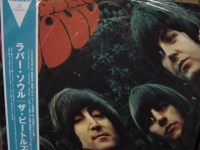 """The Beatles, Rubber Soul OBI LP"" - Product Image"