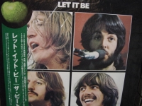 """The Beatles, Let It Be OBI LP"" - Product Image"