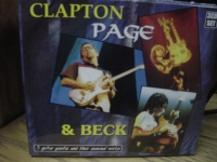 """Eric Clapton / Jeff Beck / Jimmy Page, Clapton, Beck & Page (3 CDs)"" - Product Image"