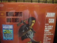 """Johnny Cash, Blood Sweat & Tears - 180 Gram"" - Product Image"