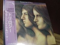 """Emerson Lake & Palmer, Trilogy - Mini LP Replica In A CD"" - Product Image"