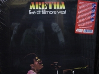 """Aretha Franklin, Live At The Fillmore West"" - Product Image"