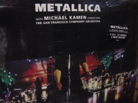 """Metallica, w/ Michal Kamen conducting the San Francisco Symphony Orchestra (3 LPs)"" - Product Image"