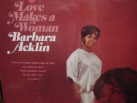 """Barbara Acklin, Love Makes A woman"" - Product Image"