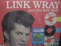 """Link Wray and His Ray Men, Swan Singles Collection (2 LPs)"" - Product Image"