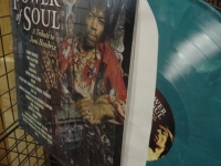 """Jimi Hendrix Tribute, Power Of Soul (Aqua Vinyl)"" - Product Image"