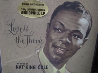 """Nat King Cole, Love Is The Thing - 180 Gram Vinyl"" - Product Image"