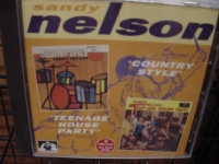 """Sandy Nelson, Country Style & Teenage House Party (2 LPs in 1 CD)"" - Product Image"