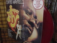 """Curtis Mayfield, Super Fly (rare red vinyl)"" - Product Image"