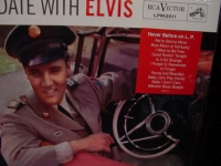 """Elvis Presley, A Date With Elvis (gatefold cover)"" - Product Image"