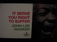 """John Lee Hooker, It Serve You Right To Suffer - 180 Gram"" - Product Image"