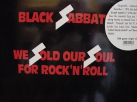 """Black Sabbath, We Sold Our For Rock 'N' Roll (2 LPs) - 180 Gram - GOLD VINYL"" - Product Image"