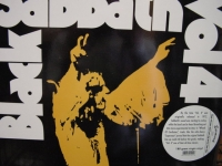 """Black Sabbath, Vol. 4 w Gatefold Cover - Last Copy 180 Gram - CURRENTLY OUT OF STOCK"" - Product Image"