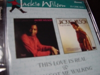 """Jackie Wilson, This Love Is Real & You Got Me Walking"" (2 LPs on 1 CD) - Product Image"