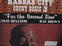 """Count Basie & The Kansas City 3, For The Second Time (2LPs, Low # 140 Pressing)"" - Product Image"
