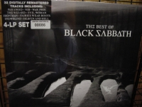 """Black Sabbath, The Best Of Black Sabbath - 4 LPs (limited edition #d pressing)"" - Product Image"