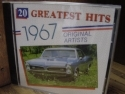"""20 Greatest Hits of 1967 (Various Artists)"" - Product Image"