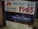 """20 Greatest Hits of 1965 (Various Artists)"" - Product Image"