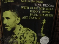 """Tina Brooks, Back to the Tracks - 45 Speed 180 Gram"" - Product Image"