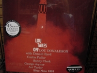 """Lou Donaldson, Lou Takes Off - 4 LPs"" - Product Image"