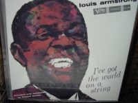 """Louis Armstrong, I've Got The World On A String - 180 Gram"" - Product Image"