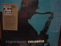 """Sonny Rollins, Saxophone Colossus"" - Product Image"