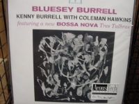 """Kenny Burrell with Coleman Hawkins, Bluesy Burrell"" - Product Image"