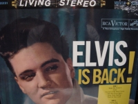 """Elvis Presley, Elvis Is Back"" - Product Image"
