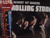 """The Rolling Stones, Hit Makers OBI"" - Product Image"