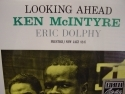 """Eric Dolphy & Kevin McIntire, Looking Ahead"" - Product Image"