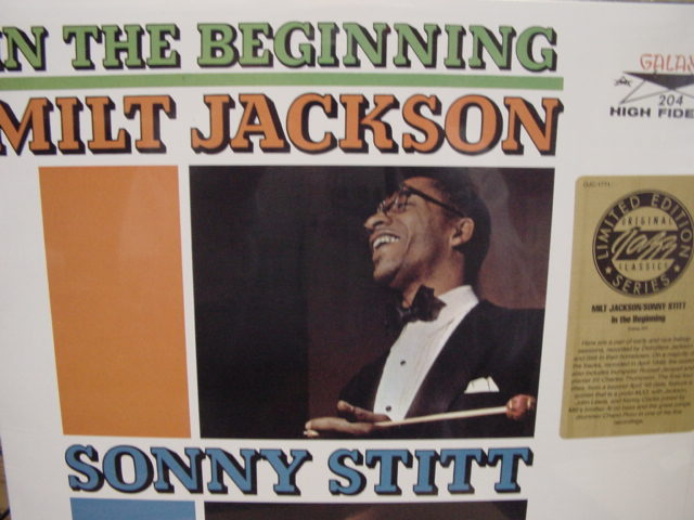 """""""Milt Jackson with Sonny Stitt, In The Beginning"""" - Product Image"""