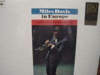 """Miles Davis, In Europe"" - Product Image"