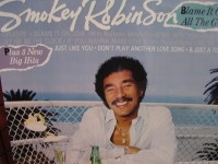 """Smokey Robinson, Blame It On Love"" - Product Image"