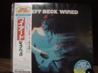 """Jeff Beck, Wired Mini LP Replica In A CD - Japanese"" - Product Image"