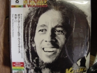 """Bob Marley, Kaya - OBI Mini Replica LP In A CD - Japanese"" - Product Image"