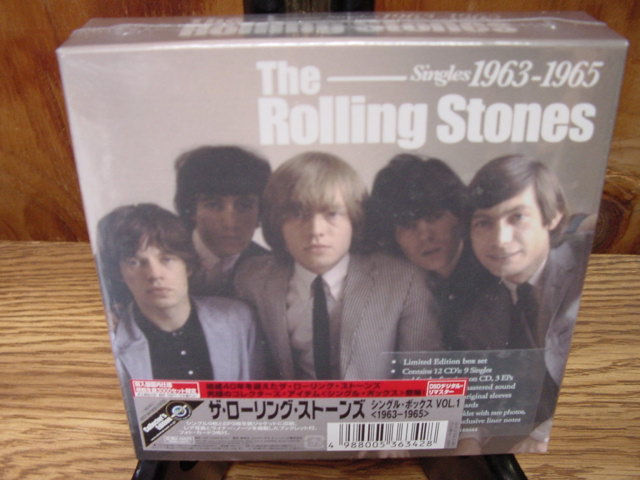 """The Rolling Stones - The London Years Singles Collection (1963-1965) 12 CD Box Set from Japan  - CURRENTLY SOLD OUT"" - Product Image"