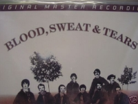 """Blood Sweat & Tears, S/T MFSL LP"" - Product Image"